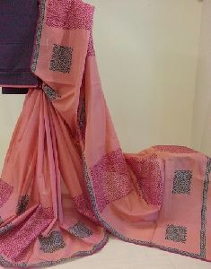 Jute Cotton Saree