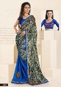 Patch Work Saree