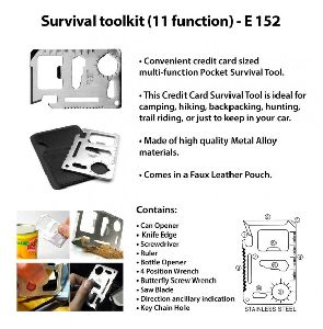 Survival Toolkit