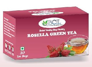Rosella Green Tea