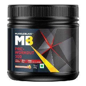 Fruit Punch MuscleBlaze Pre-Workout 300
