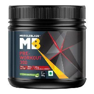 Green Appple MuscleBlaze Pre-Workout 300