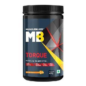 Orange MuscleBlaze Torque Pre-Workout