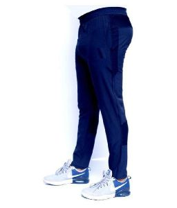 Mens Blue Track Pants