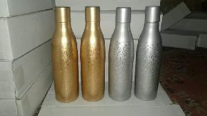 Brass & Silver Water Bottles
