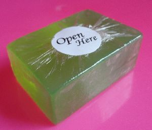 Transparent Olive Oil, Aloe Vera and Glycerin Soap