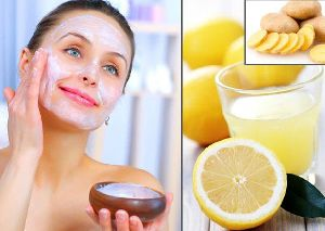 Vitamin C and Lemon Face Pack