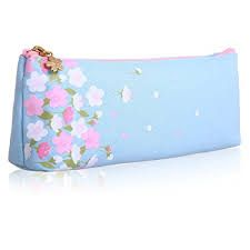 Floral Printed Cosmetic Bag