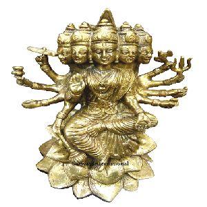 Brass Goddess Laxmi Statue