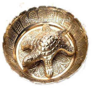 Brass Tortoise Plate