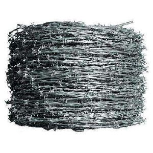 Galvanised Barbed Wire