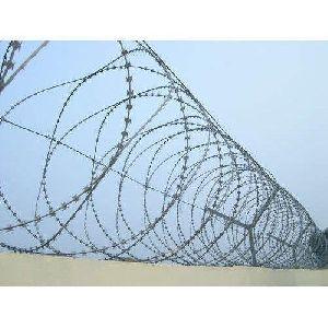 Galvanised Concertina Wire