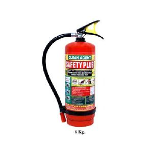 6 KG Clean Agent Fire Extinguisher