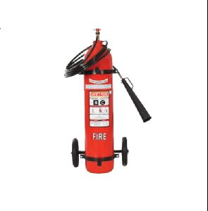 Trolley Mounted CO2 Fire Extinguisher