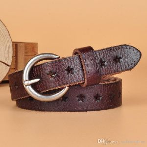 Ladies Leather Belts