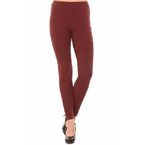 Ladies Fancy Cotton Lycra Leggings