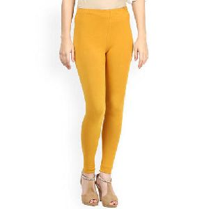 Ladies Plain Comfort Leggings