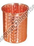 Copper Hammered Tumbler