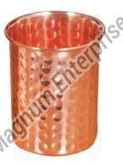 Copper Hammered Tumbler