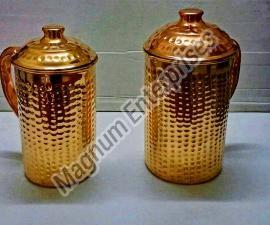 Hammered Copper Jug