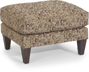 Fabric Ottoman