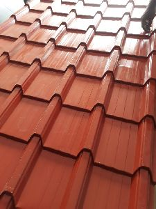 Red Tile Profile Sheet