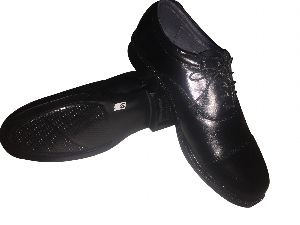 Leather DMS Black Shoes