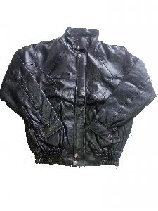 Men Indian Air Force Leather Jacket