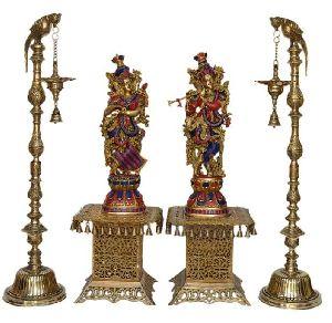 Brass Standing Diya