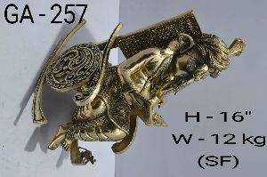 GA-257 Brass Ganesh Statue