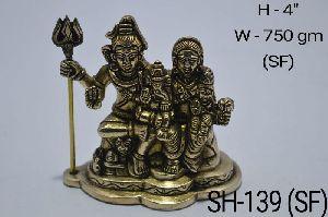 SH-139 (SF) Shiv Parivar Statue