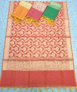 Poly Cotton Banarasi Dupatta