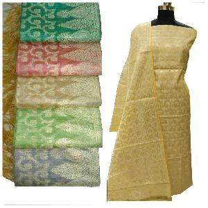 Zari Suit Material