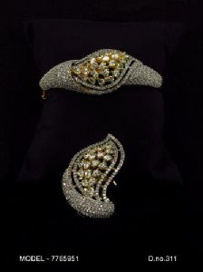 Antique American Diamond Earrings