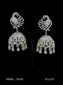 Antique Diamond Jhumka