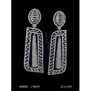 Artificial American Diamond Earrings