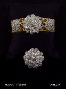 Cubic Zirconia Diamond Earring