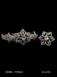 Modular American Diamond Bracelet