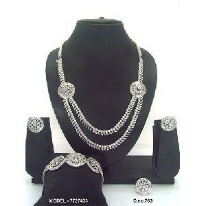 Reception American Diamond Jewellery Set