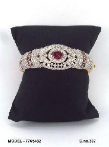Stone American Diamond Bracelet