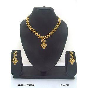 Unique American Diamond Necklace Set