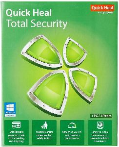 Quick Heal Total Security 3 User 1 Year Antivirus