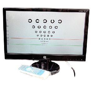 LED Visual Acuity Chart