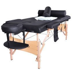 Wooden Portable Folding Massage Table