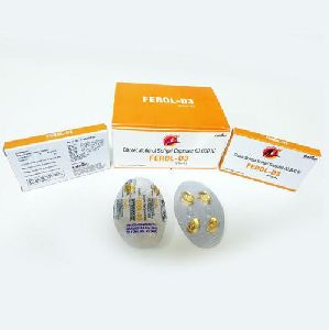 Ferol-D3 Softgel Capsules