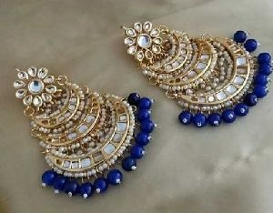 Fancy Kundan Earrings
