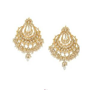 Imitation Kundan Earrings