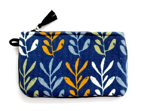 Screen Printed Canvas Pouch