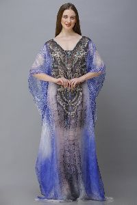 Silk Long Kaftan