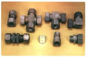 Mild Steel Compression Fittings